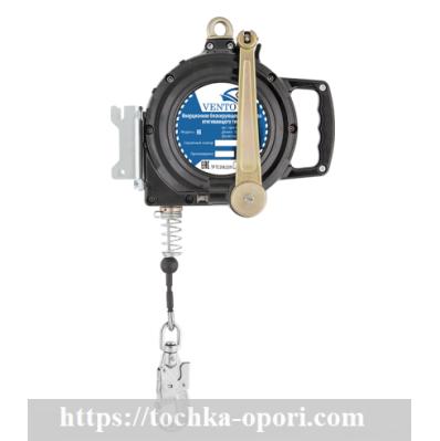 Средство защиты втягивающего типа со встроенной лебедкой НВ evak