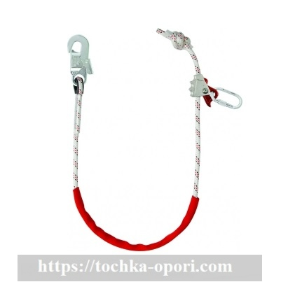 Строп веревочный одинарный с регулятором длины ползункового типа «В11у»