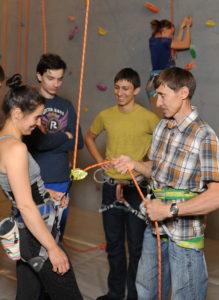 Курсы инструкторов по скалолазанию